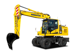 Introducing the new PW148-11 and PW180-11 wheeled excavators.