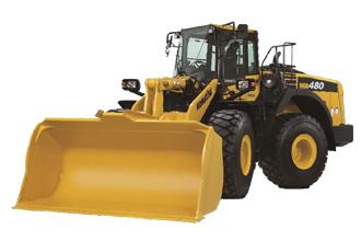 WA480-8 Komatsu wa480 wheel loader