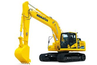 HB215LC-3 hybrid excavator Komatsu digger technology