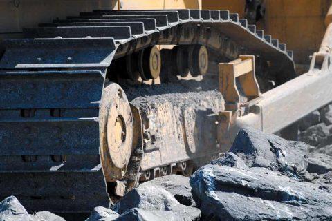 Undercarriage plus Komatsu parts bulldozer excavator crawler