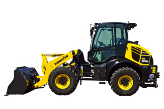 Introducing the WA100M-8 compact wheel loader
