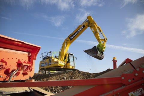 Flannery Hybrid Excavator