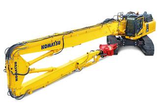 PC490HRD-11 PC490HRD High Reach Demolition Excavator Komatsu