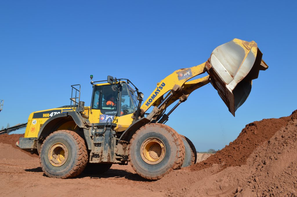 Wheel Loader Loading Shovel JPE