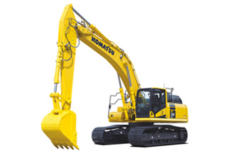 Komatsu PC360LCi-11 crawler tracked hydraulic excavator intelligent machine control technology