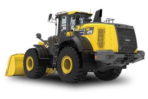 Komatsu WA475-10 Wheel Loader Shovel Loading WA475 WA475-10