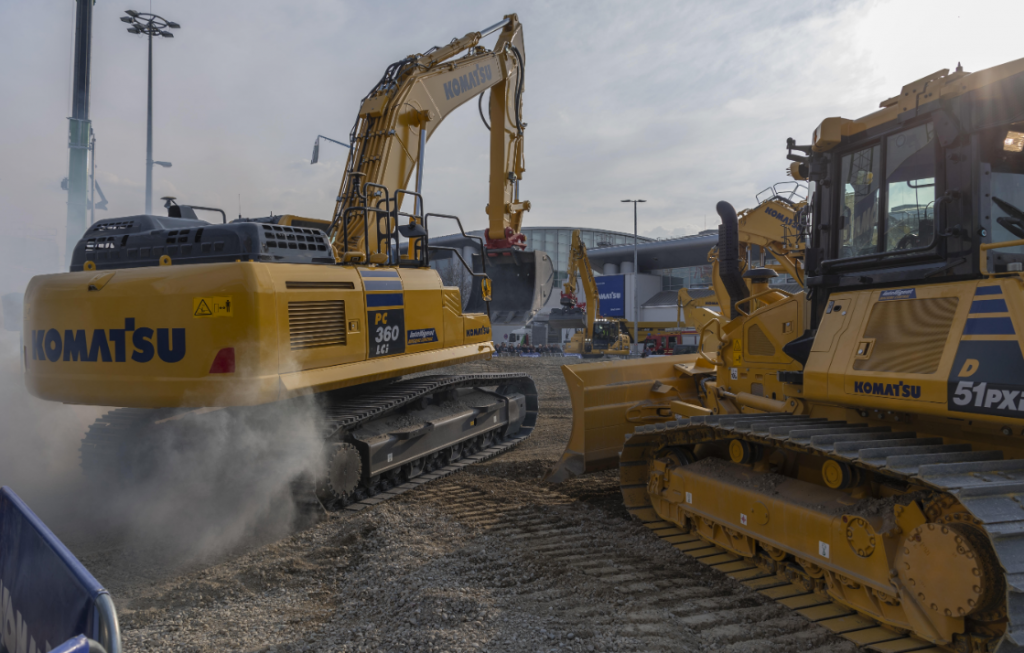 PC360LCi-11 PC360LCi Excavator Komatsu Construction Intelligent machine control PC360LCi