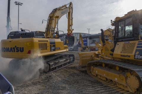 PC360LCi-11 PC360LCi Excavator Komatsu Construction Intelligent machine control PC360LCi