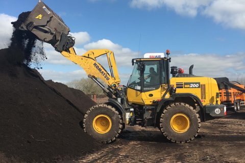 Hills Waste Solutions Komatsu Wheel Loader
