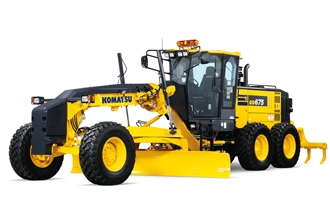 Introducing the new Komatsu GD675-7 Motor Grader