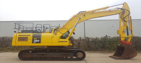 Used Komatsu excavator digger for sale