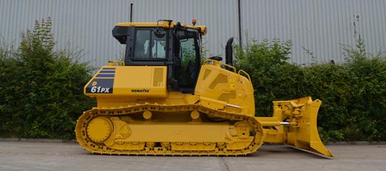used Komatsu bulldozer for sale