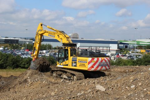 Wordsworth Excavations receive the first Komatsu PC360LCi-11 in Europe.