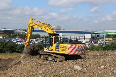Wordworth PC360LCi-11 excavator intelligent machine control Komatsu