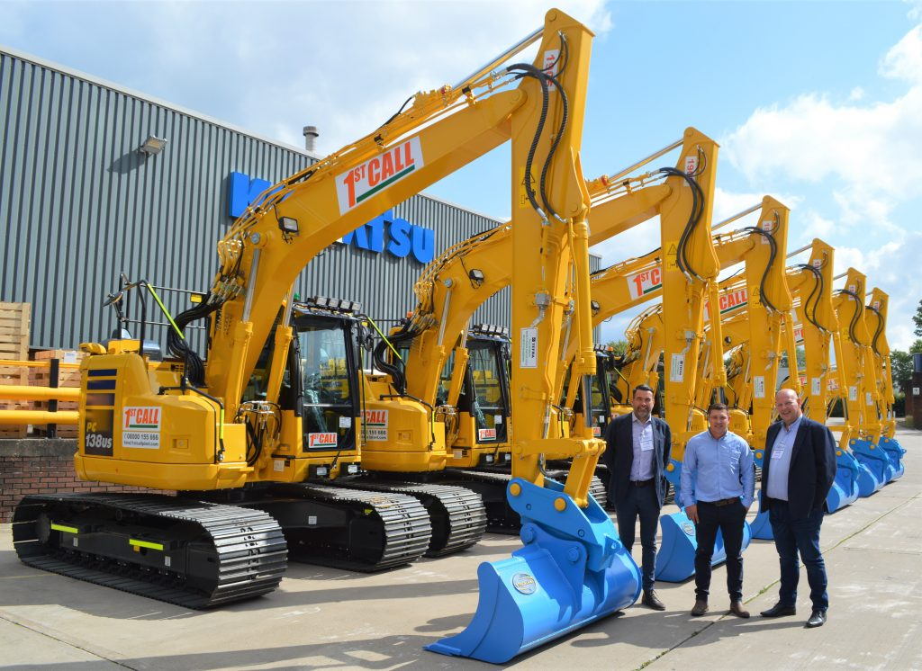 1st call plant hire